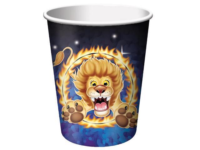 8 Pack 9Oz Cups Big Top Birthday