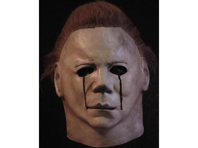 Michael Myers Blood Tears Halloween 2 Full Head Costume Mask Adult One Size