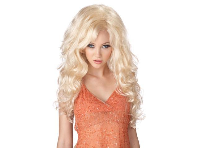 Blonde Bombshell Costume Wig Adult One Size