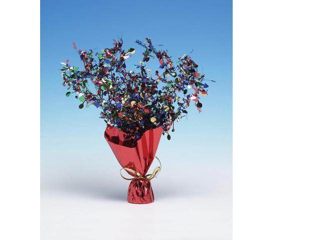Paper Art Foil Spray Centerpiece Birthday