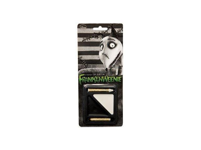 Frankenweenie Black & White Costume Makeup Kit One Size
