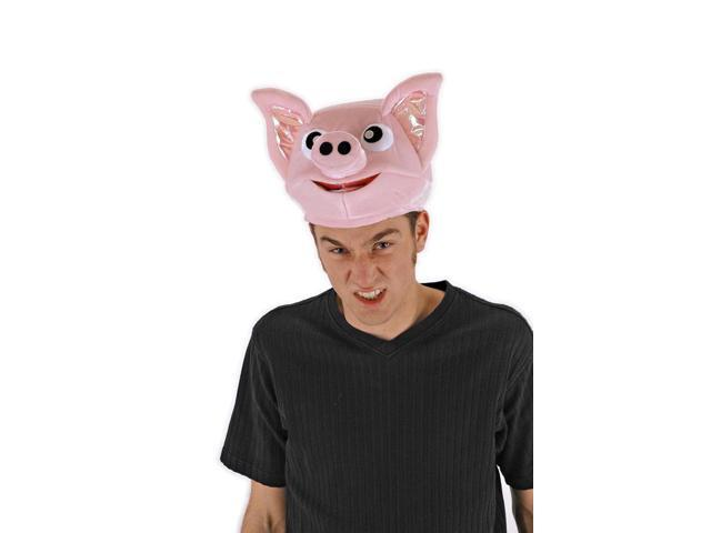 The Oinker Costume Pig Hat Adult One Size