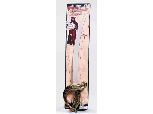 Pirate Buccaneer Costume Sword One Size
