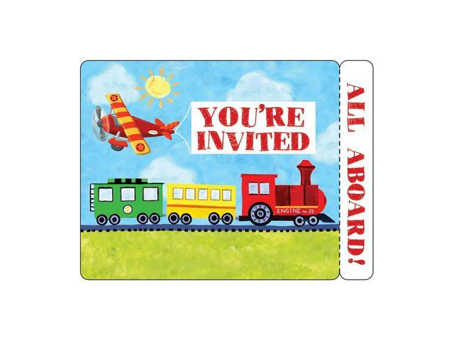 Invitation Card With Envelope 8 Pack On The Go
