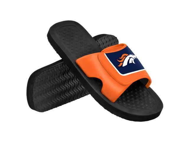 Denver Broncos NFL Men's Shower Slide Flip Flops Medium