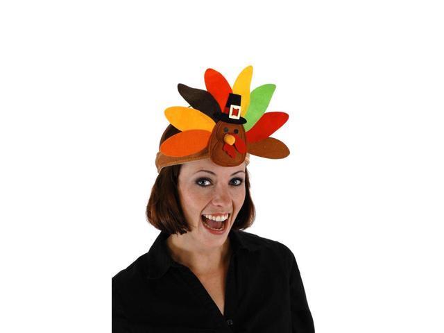 Thanksgiving Turkey Costume Headband One Size