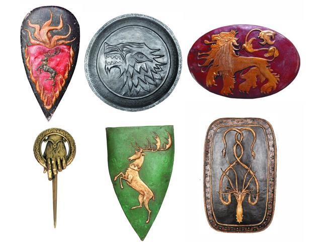 Game Of Thrones Collector's Metal Pin Set Of 6