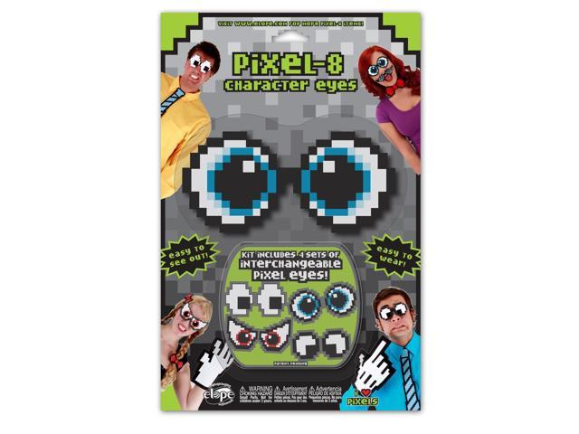 Pixel-8 Costume Character Eyes Set One Size