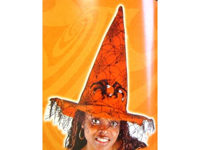 Spider Witch Hat Orange