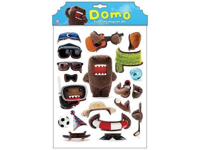 Domo Dress Up Magnet Set