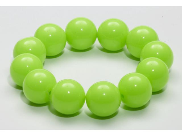 Club Candy Gumball Costume Bracelet: Green One Size