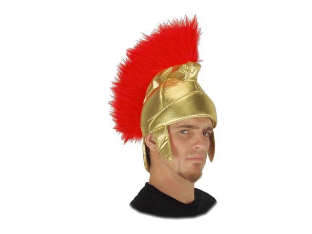 Roman Trojan Soldier Costume Helmet Adult One Size