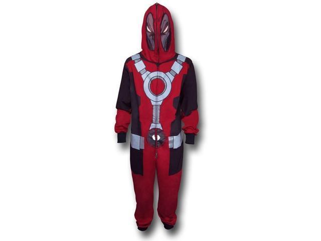 Marvel Deadpool Union Suit Small