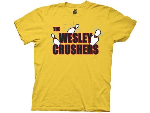 Big Bang Theory The Wesley Crushers Bowling Shirt Adult Medium