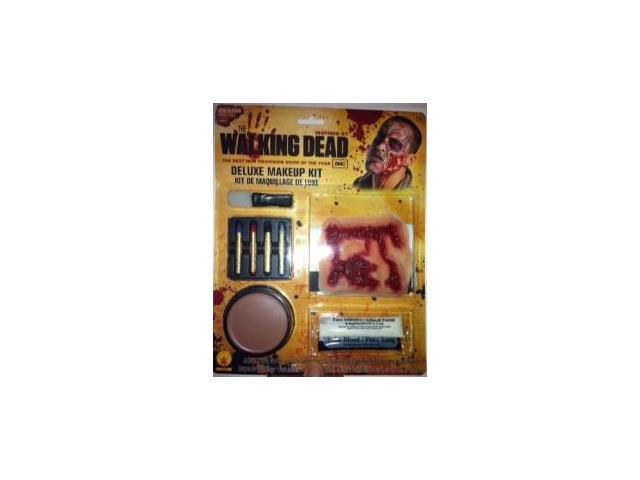 The Walking Dead Deluxe Costume Make Up Kit One Size