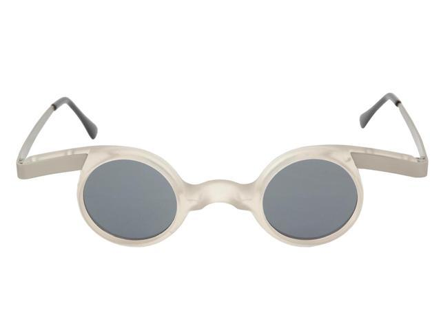 Mad Scientist Costume Glasses Adult: Frost White One Size