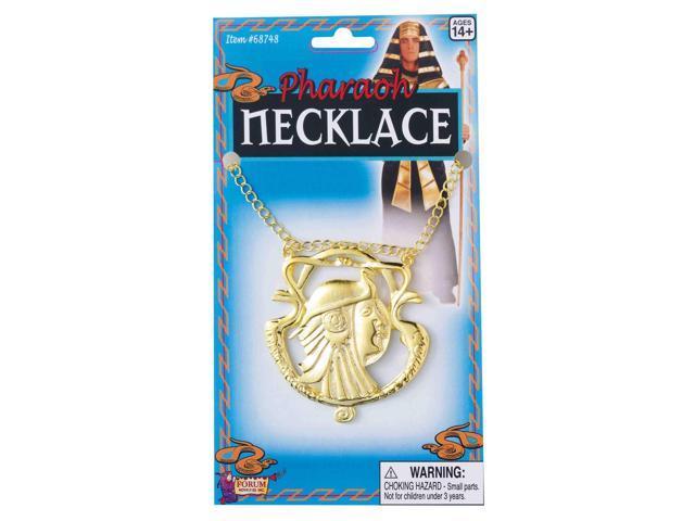 Egyptian Pharaoh Adult Costume Necklace One Size