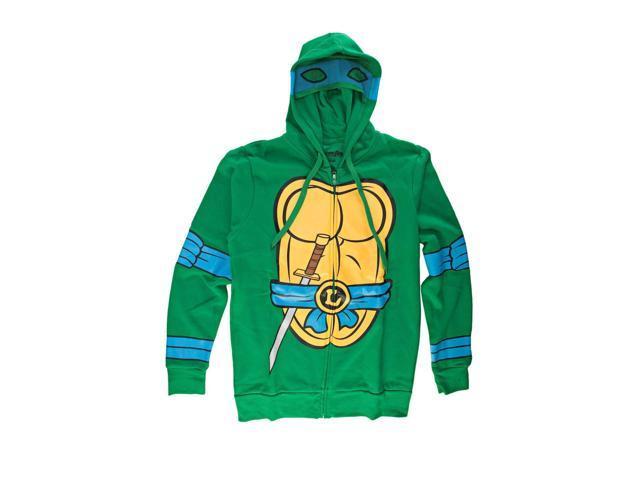 I Am Leonardo Teenage Mutant Ninja Turtles Zip Up Hoodie X-Large