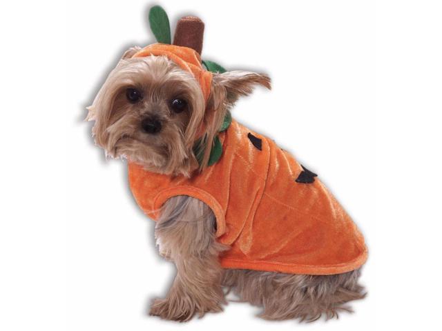 Orange Pumpkin Dog Cat Pet Costume Small Small