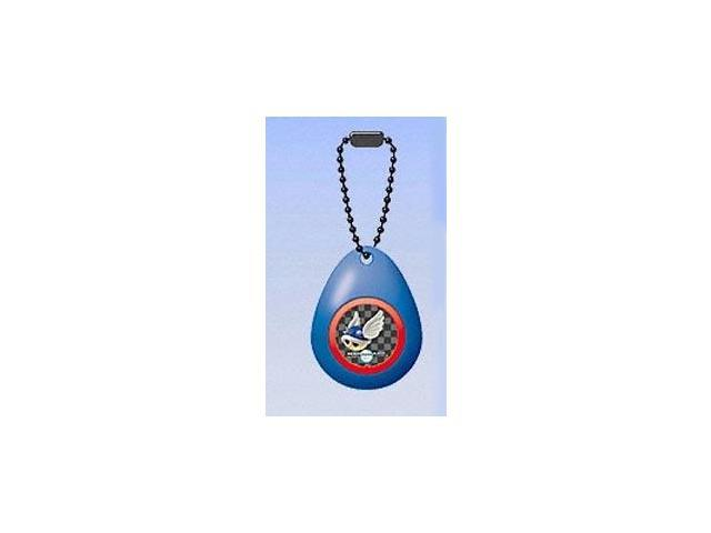 Super Mario Mini Sound Drop Swing Clip On Keychain Blue Turtle