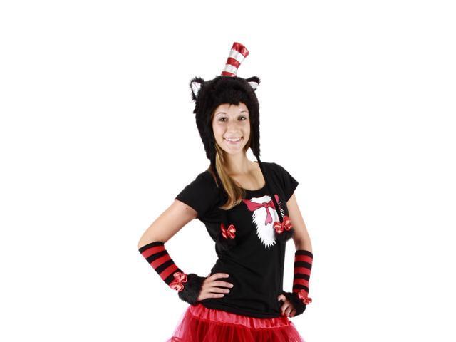 Dr. Seuss Cat In The Hat Costume Laplander Hat Adult One Size