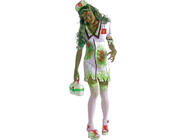 Biohazard Zombie Nurse Adult Female Costume One Size Fits Most