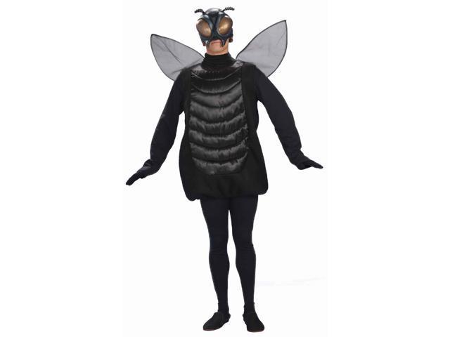 Black Bug Fly Mask Costume Adult Standard