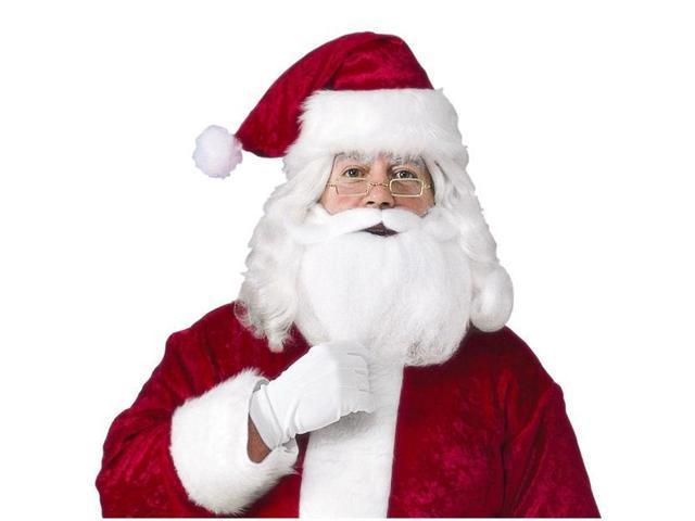 Santa Hat With Beard & Glasses