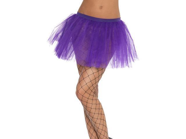 Tutu Royal Purple Adult Costume Underskirt One Size