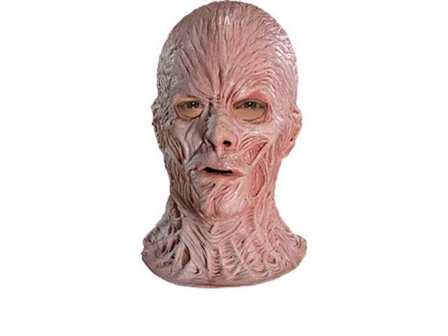 Nightmare On Elm Street Freddy Super Deluxe Latex Costume Mask Adult One Size