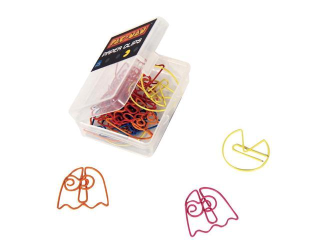 Pac-Man Paper Clips