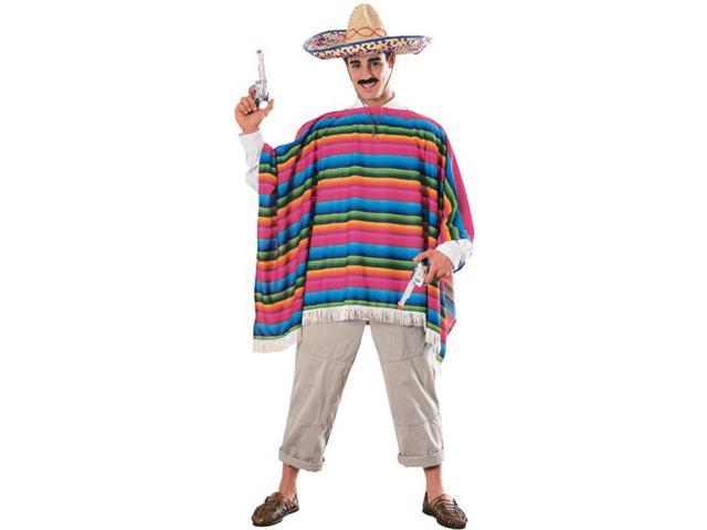 Mexican Serape Adult Costume Standard
