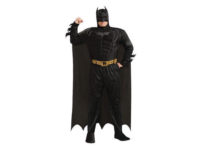 Batman Deluxe Muscle Chest Costume Adult Plus Plus Size 46-52