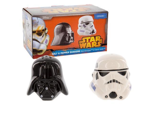 Star wars salt pepper shakers darth vader stormtrooper - Darth vader and stormtrooper salt and pepper shakers ...