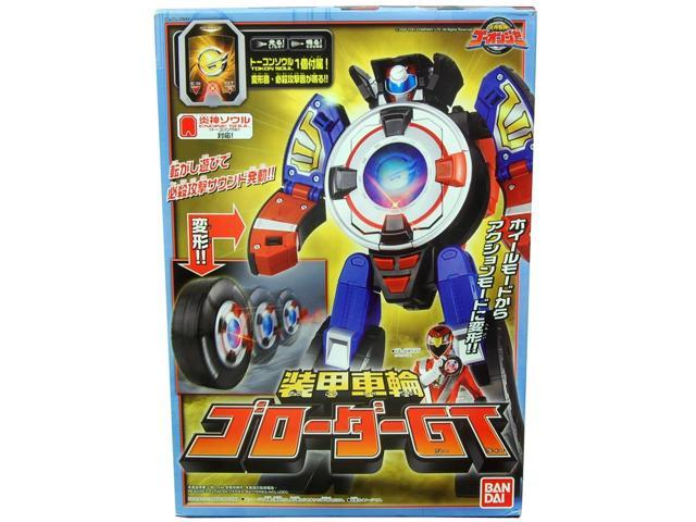 Power Rangers Armored Wheel Go-Roader GT
