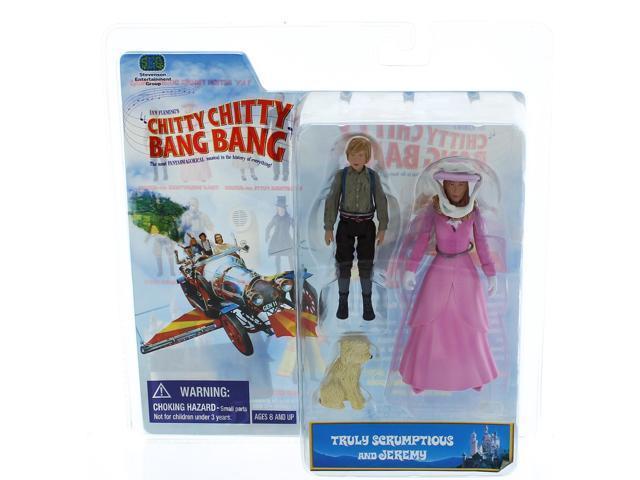 Chitty Chitty Bang Bang 2 Pack Figure Truly Scrumptious & Jeremy Potts