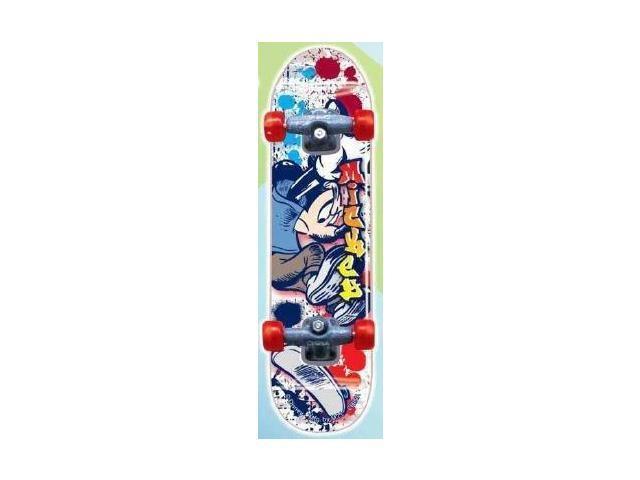 Disney Mickey Mouse A Skateboard Key Ring