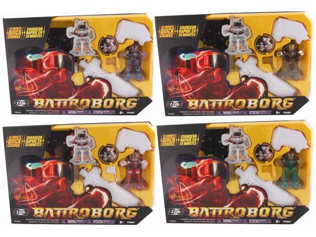 Battroborg Single Pack Case Of 4 Assorted