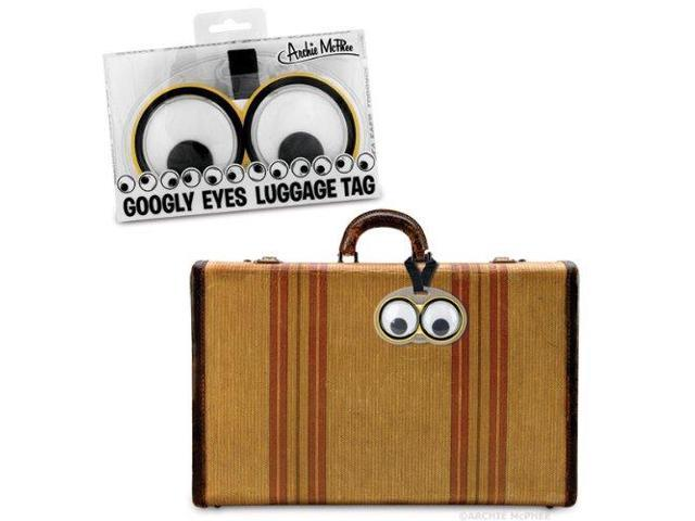 Googly Eyes Luggage Tags