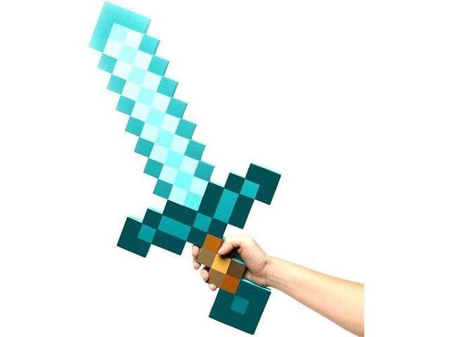 Minecraft Diamond Foam Sword Exclusive