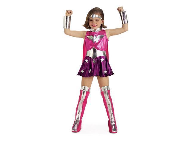 Wonder Woman Pink Toddler Costume Small