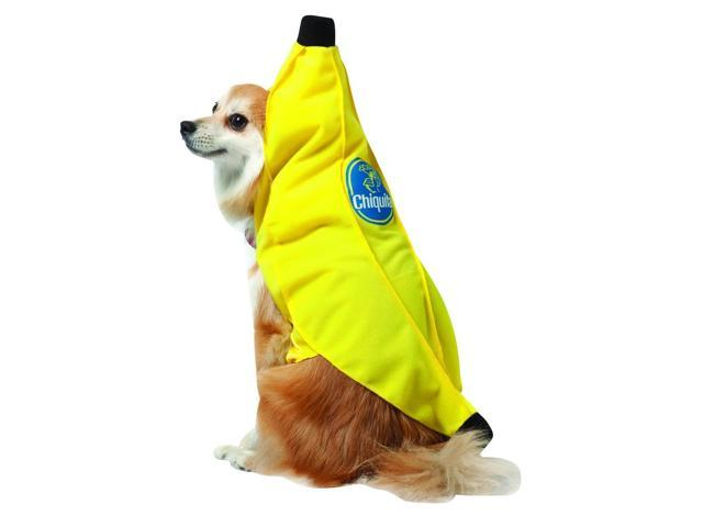 Chiquita Banana Pet Dog Costume X-Small