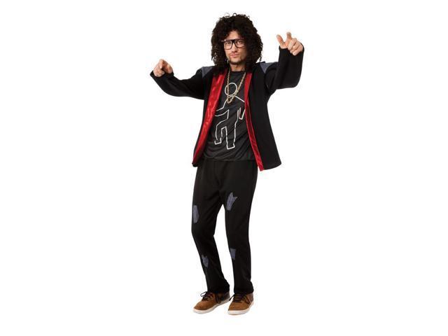 LMFAO Sky Blue Party Rock Anthem Costume Adult X-Large 44-46