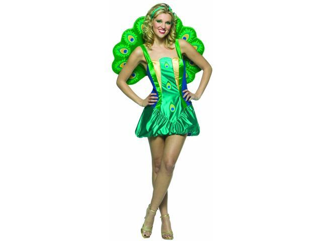 Lightweight Peacock Costume Adult Standard