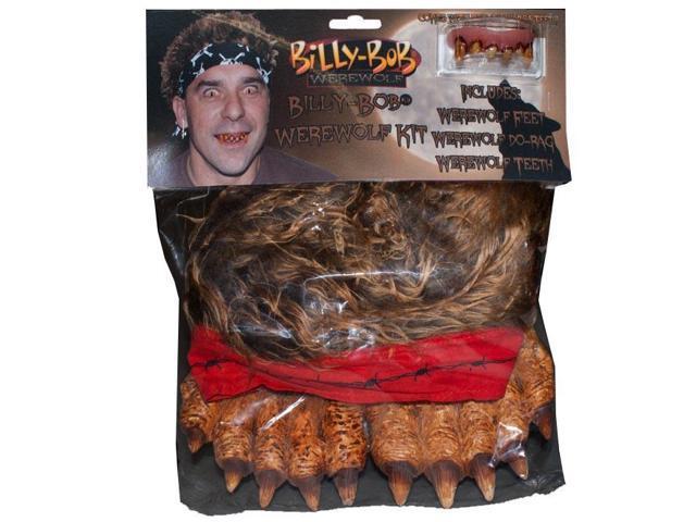 Billy Bob Instant Werewolf Costume Kit Adult One Size