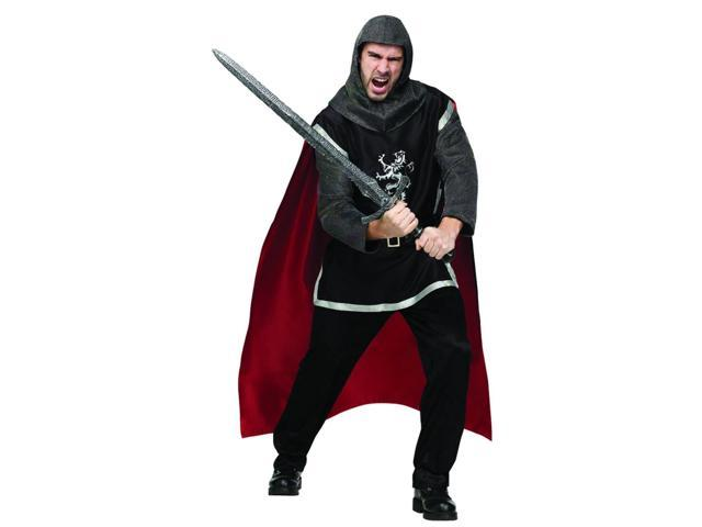 Medieval Knight Costume Adult One Size Fits Most