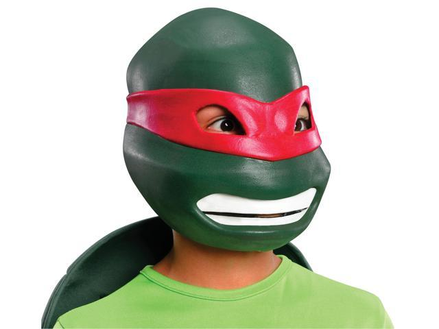 T.M.N.T. Raphael 3/4 Vinyl Costume Mask Child One Size