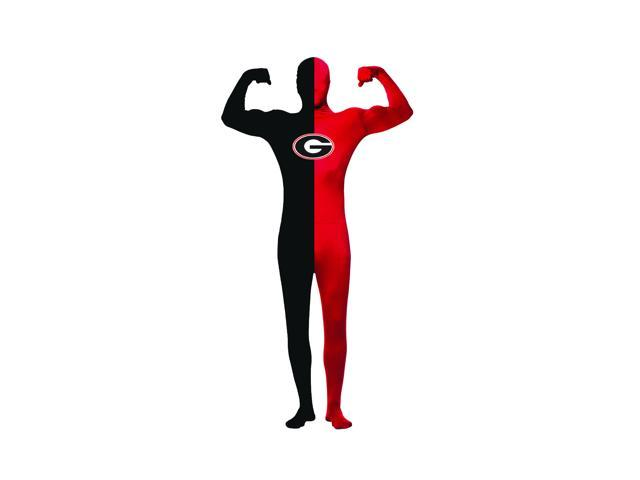 University of Georgia Men's Skin Suit Costume Adult One Size Fits Most