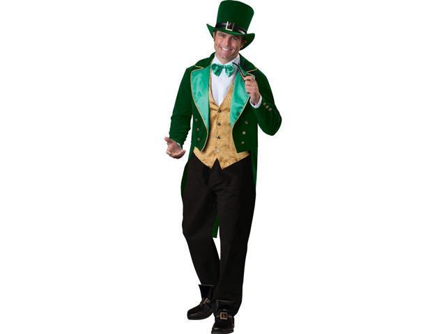St. Patrick's Lucky Leprechaun Costume Adult Medium