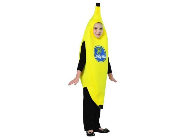 Chiquita Banana Costume Child Medium 7-10